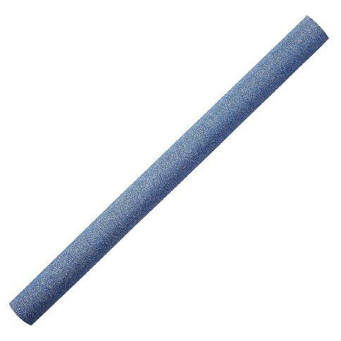 WS Book Cover Glitter Blue 45cm x 1m