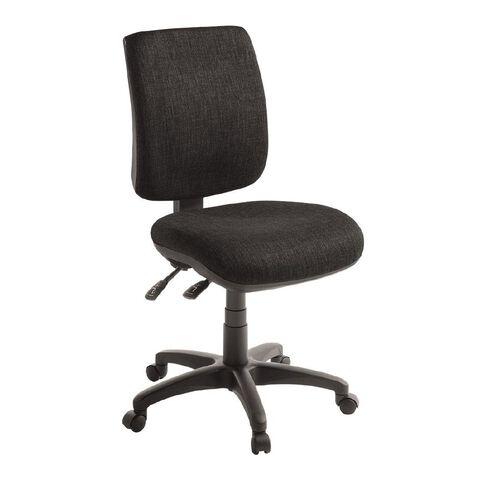 Eden Sport 2 Lever Midback Ergonomic Chair Ebony