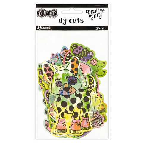 Ranger Dylusions Creative Dyary Die Cuts 4