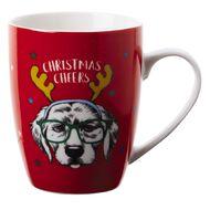 Artwrap Christmas Boxed Mugs Dog 350ml/12 Oz Assorted