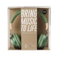 Conservatory Wireless Headphones Green