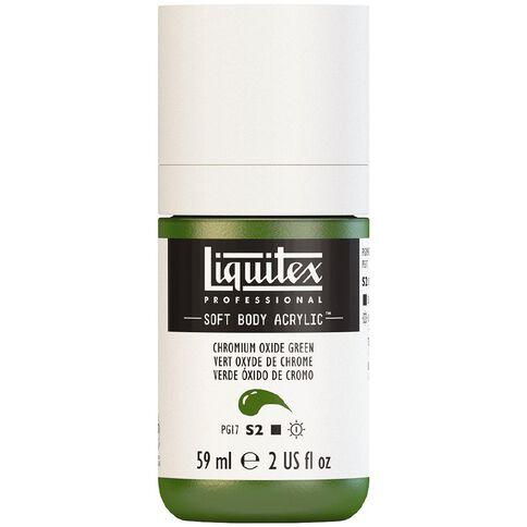 Liquitex Soft Body Acrylic 59ml Chrom Oxide Green S2