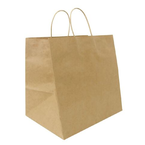 Xtra Wide Twisted Handle Paper Bag 25 Pack