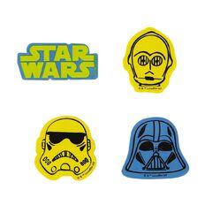 Star Wars Novelty Erasers 4 Pack