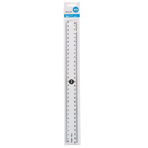 WS Ruler Clear 30cm