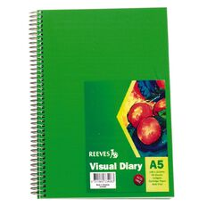 Reeves Visual Diary Green A5