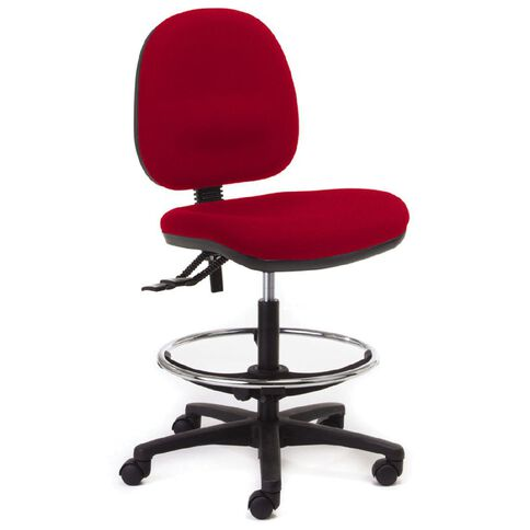 Chair Solutions Aspen Midback Tech Chair Red