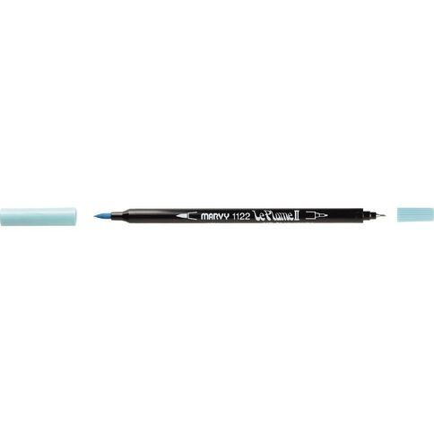 MARVY Le Plume II Dual Tip Marker Aquamarine