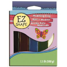 Sculpey EZ Shape Modelling Clay Set 5 Natural Colour