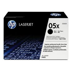 HP 05X Black Contract LaserJet Toner Cartridge (6500 Pages)