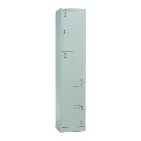 Precision Locker 2 Step Silver Grey