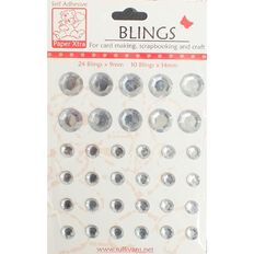 Blings Stick On Bling Clear