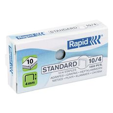 Rapid Staples No.10 1000 Pack Silver