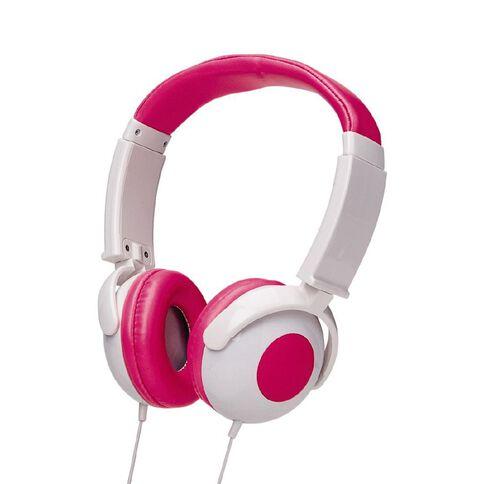 Tech.Inc Kids' Volume Limited Headphones Pink