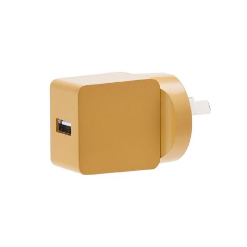 Conservatory USB Wall Charger 2.4A Antique Gold