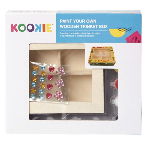 Kookie Paint Your Own Jewellery Box