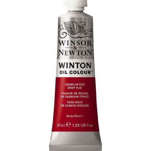 Winsor & Newton Winton Oil Paint 37ml Cadium Deep Hue Red