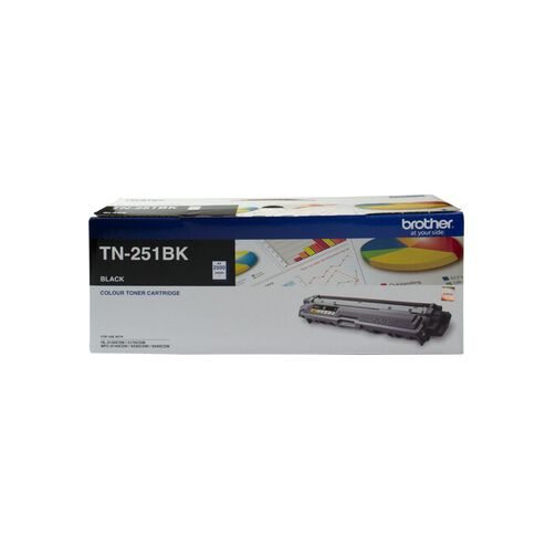 Brother Toner TN251 Black (2500 Pages)