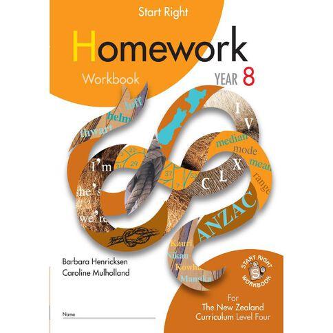 SR Year 8 Homework Workbook