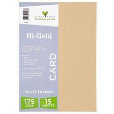 Trophee Higold Kraft 175gsm 15 Pack A4