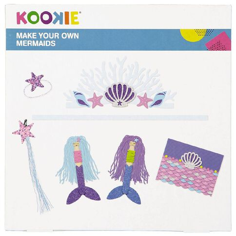 Kookie Make Your Own Mermaid Kit