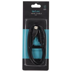 Tech.Inc HDMI Cable 1.5m