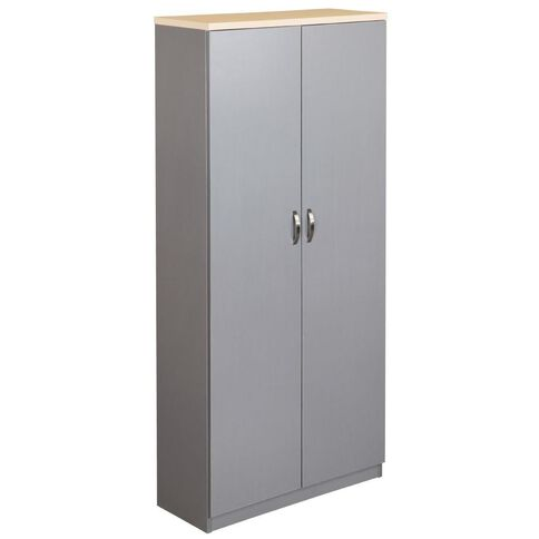 EKO Cupboard 1800 Nordic Maple/Silver