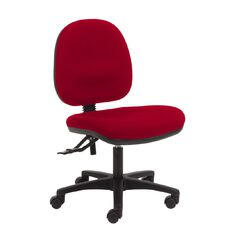 Chair Solutions Aspen Midback Chair Red Red