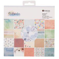 Rosie's Studio Stillwater Designer Paper Pad 40 Sheet 6in x 6in
