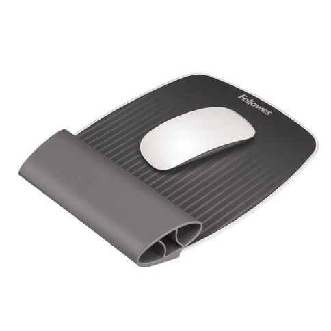 Fellowes I-Spire Mouse Pad And Wrist Rest Grey