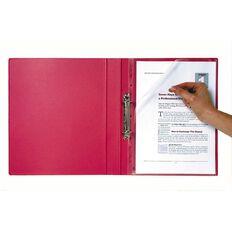 Marbig Bindermate Letter File Red A4