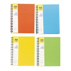 Spirax Notebook 511 Wiro Hardcover 200pg A5 Assorted