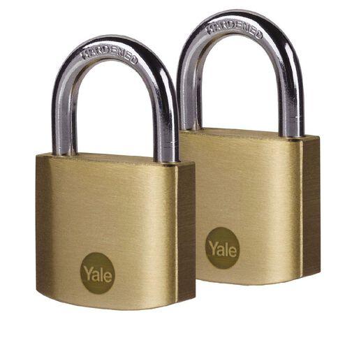 Yale Brass Padlock 40mm