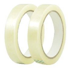 Stationery Tape 18mm x 66m 2 Pack Clear