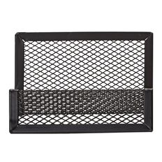 WS Mesh Business Card Holder Black