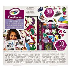 Crayola Creations Smash Journal Kit