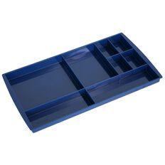 Esselte Nouveau Drawer Tidy Directors Blue