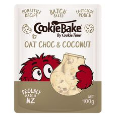Cookie Time Bake Oat Choc & Coconut 400g