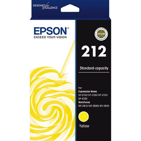 Epson Ink 212 Yellow (130 Pages)