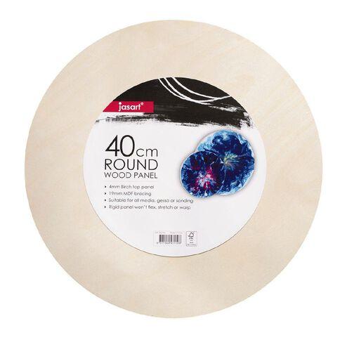 Jasart Round Artists Panel 40cm