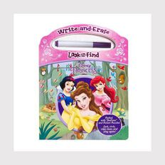 Disney Princess: Wipe Clean Look & Find
