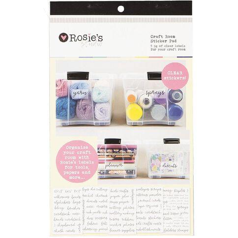 Rosie's Studio Organisation Pad 5 Page Craft Room