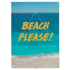 Banter Beach Please Hardcover Notebook A6