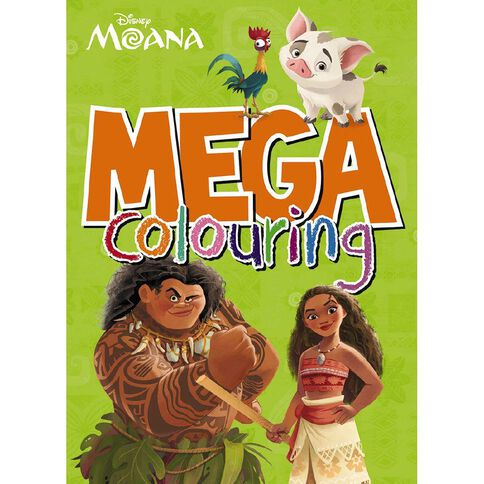 Disney Moana Mega Colouring