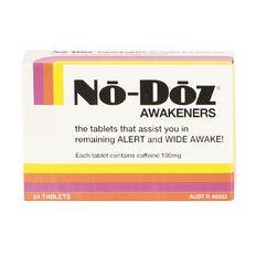 No Doz Caffeine Tablets 24s