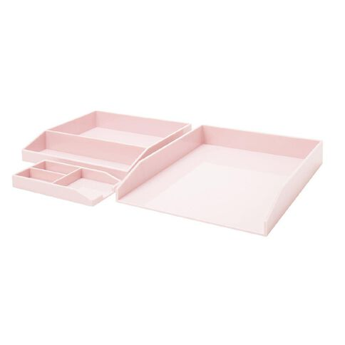 Uniti Colour Pop Desk Set Pink Light