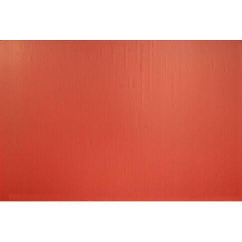 Plasti-Flute Sheet 600mm x 450mm Red