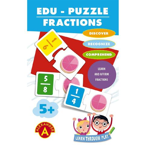 Alexander Games Edu-Puzzle Fractions