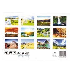 2020 Calendar New Zealand Landscapes With Envelope A4