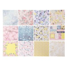 Uniti English Rose Paper Pad 6x6 inch